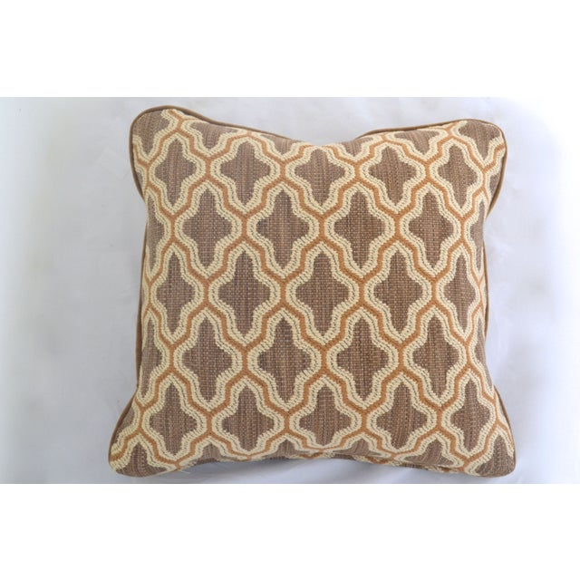 "Century Furniture Fabric Doeskin Pillow - 20"" x 20 - Image 2 of 4"