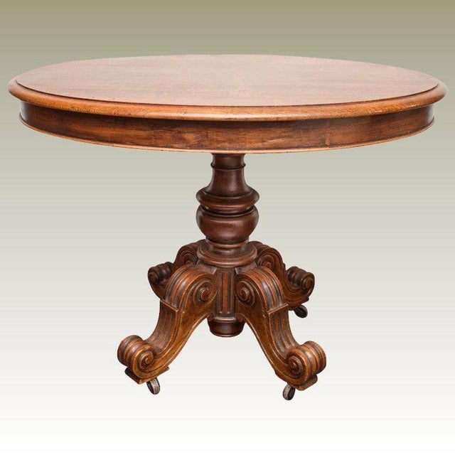 19th Century Louis Philippe Oval Table Normandy France For Sale - Image 9 of 9