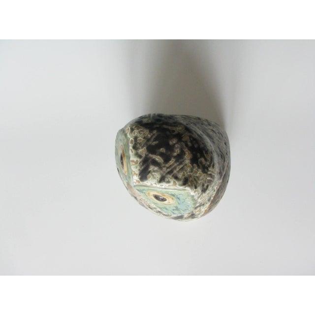 Ceramic Vintage Lladró Little Eagle Owl Stoneware Figurine Sculpted by Antonio Ballester For Sale - Image 7 of 10