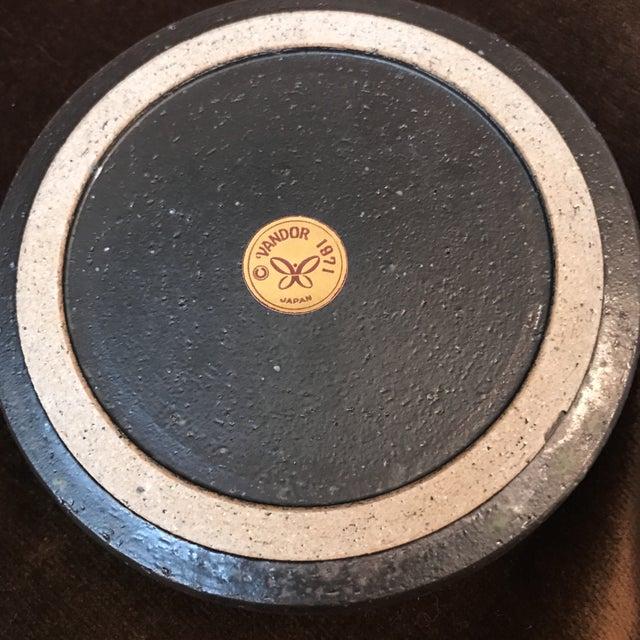 Japanese Stoneware Face Ashtrays - A Pair - Image 6 of 9