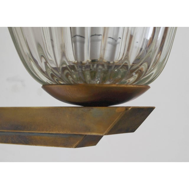 Transparent Vintage Mid Century Single Bell Sconce by Barovier E Toso Final Clearance Sale For Sale - Image 8 of 10