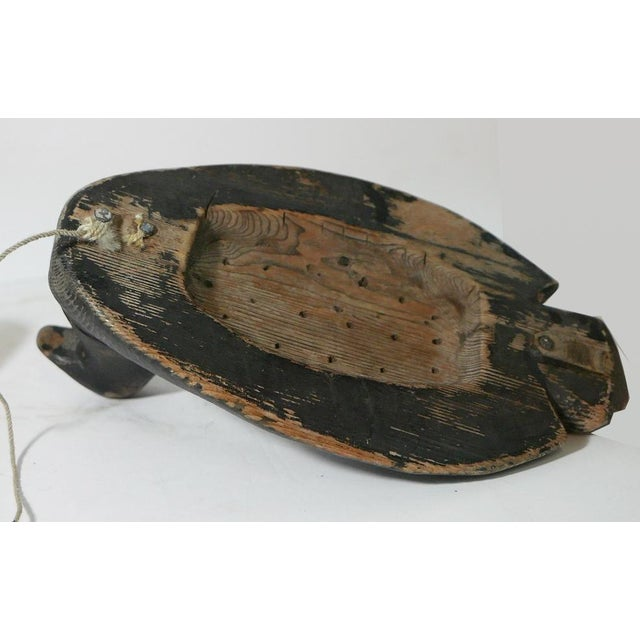 Vintage Wooden Duck Decoys For Sale - Image 4 of 6