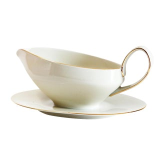 Ivory Colored Gravy Boat For Sale