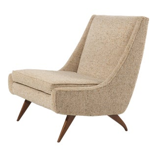 Mid Century Paul McCobb Style Slipper Lounge Chair For Sale