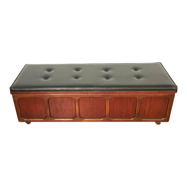 Brilliant Lane Furniture Leather Top Storage Bench Creativecarmelina Interior Chair Design Creativecarmelinacom