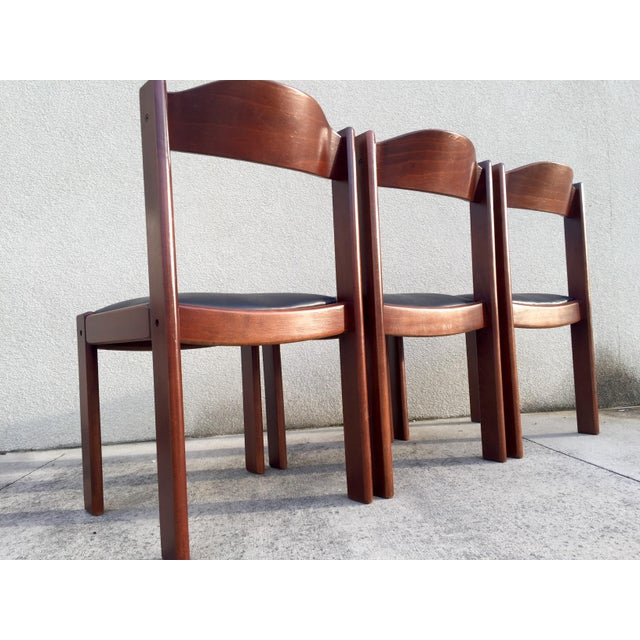 Restored Mid-Century Modern Dining Chairs - 4 - Image 6 of 8