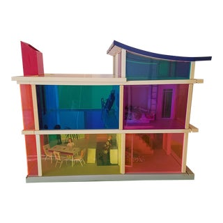 Laurie Simmons and Peter Wheelwright Bozart Kaleidoscope House- Doll House For Sale