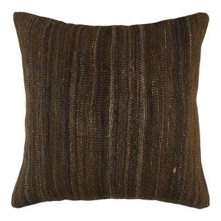 "Organic Vintage Kilim Pillow | 20"" For Sale"