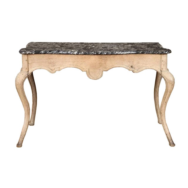 Wood 19th Century French Console Table For Sale - Image 7 of 7