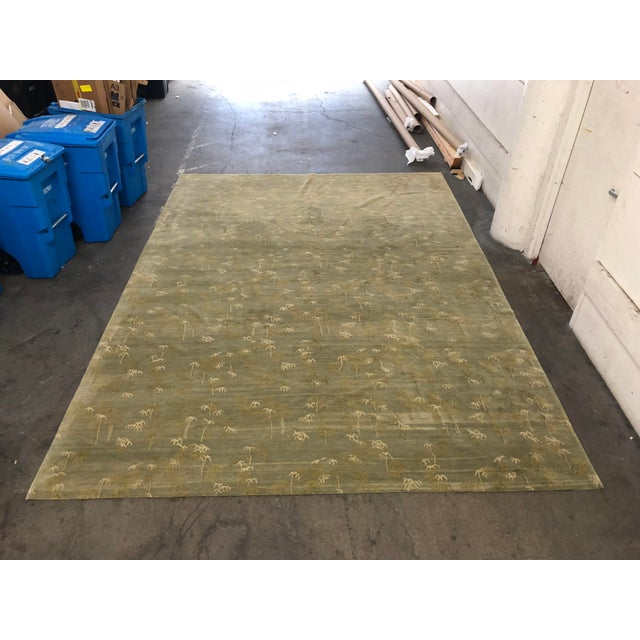 Early 21st Century Ranta Handwoven Rug From Michaeliam & Kihlberg - 13′10″ × 10′1″ For Sale - Image 5 of 9