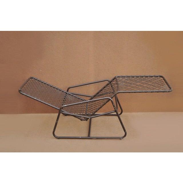 Vintage Brown Jordan Kantan Tamiami Tilt Lounge Chair Vinyl Lace Strap. Item features tilt/reclining frame, vinyl lace...