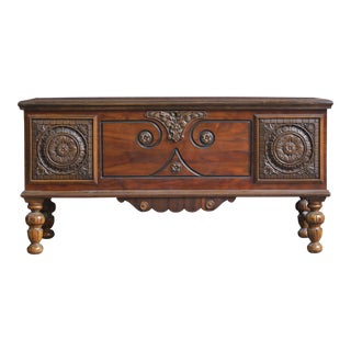 Early 20th Century Antique Cedar Chest For Sale