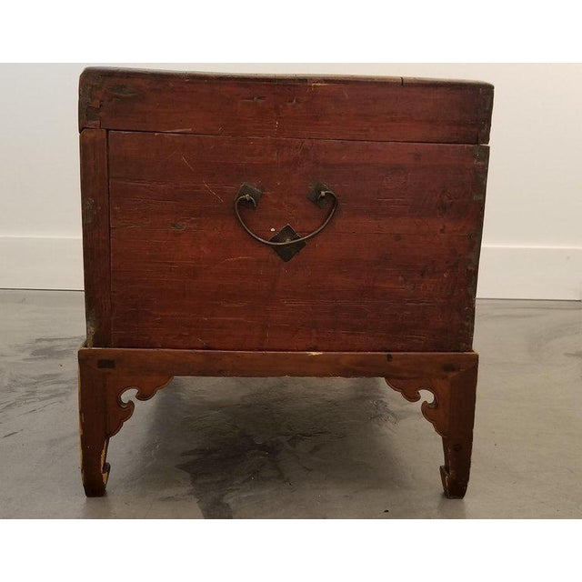 Chinese Trunk on Stand For Sale - Image 10 of 13