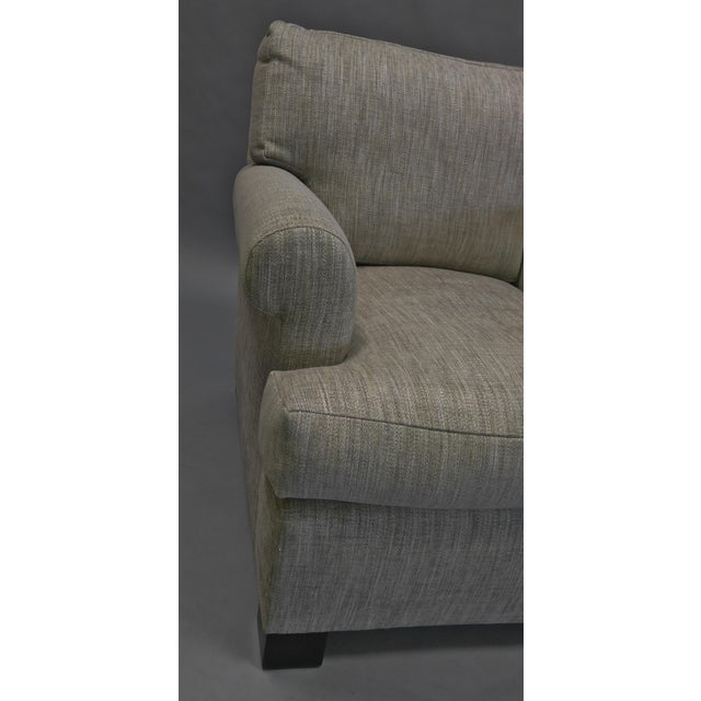 Lounge Chair Upholstered in Colfax and Fowler Fabric For Sale - Image 4 of 8