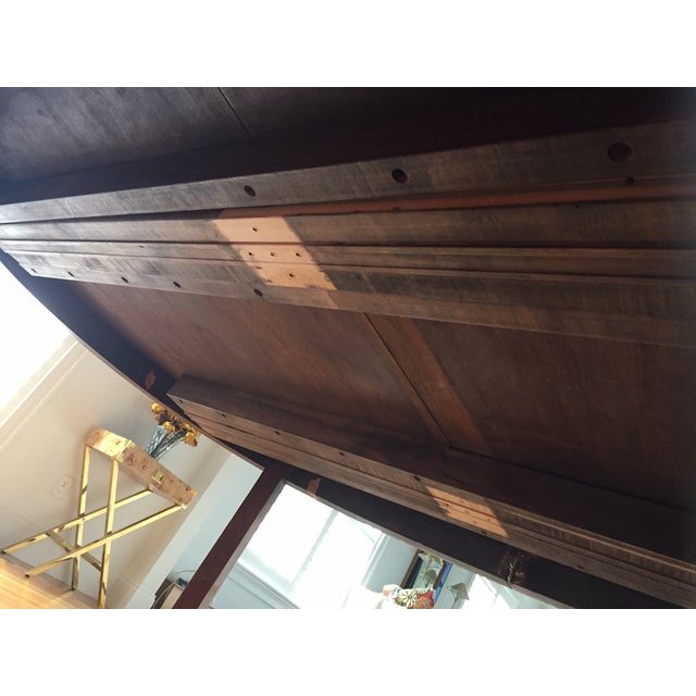 Mid-Century Modern Burlwood Dining Table For Sale - Image 10 of 13