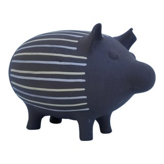 Modern Jonathan Adler Decorative Ceramic Pork Model For Sale