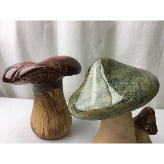 Vintage Ceramic Mushrooms - A Pair - Image 5 of 5