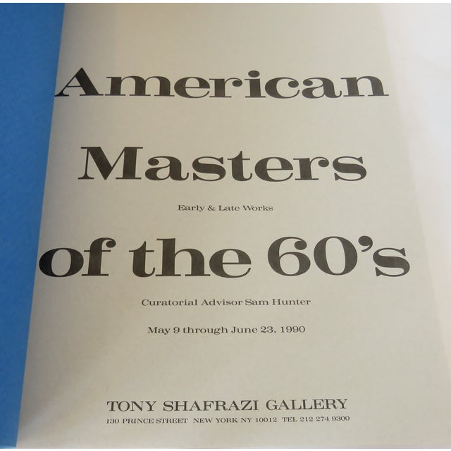 American American Masters of the 60s, 1st Edition For Sale - Image 3 of 9
