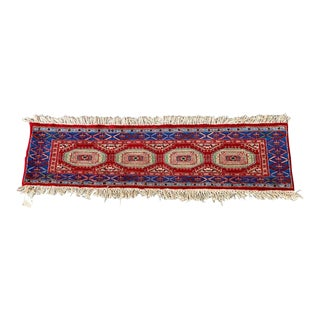 Hand Knotted Runner From Pakistan For Sale
