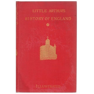 """1884 """"Little Arthur's History of England"""" Collectible Book For Sale"""