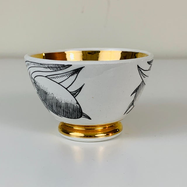 1960s Piero Fornasetti Snack Bowls - Set of 3 For Sale - Image 9 of 13