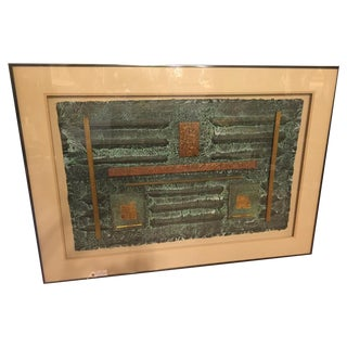 DeBard for Harris G Strong Bronze Age Mixed-Media For Sale