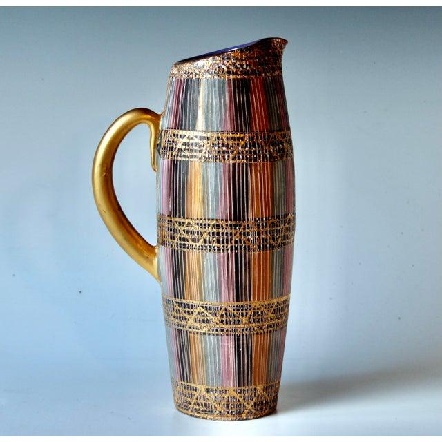 Mid Century Bitossi Raymor Seta Italian Pottery Londi Pitcher For Sale - Image 13 of 13