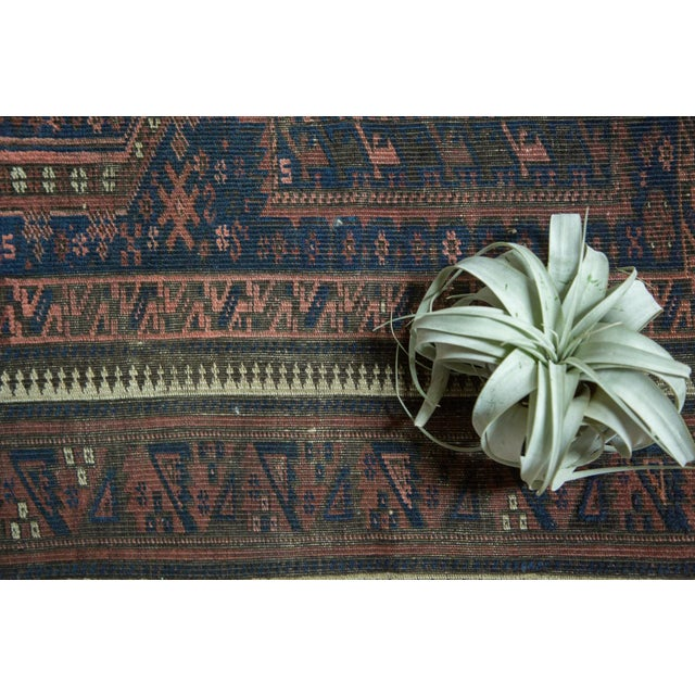 """Antique Belouch Rug Runner - 2'8"""" x 4'8"""" For Sale In New York - Image 6 of 10"""