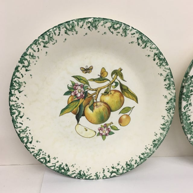 Italian Tre Ci Fruit Plates - Set of 6 For Sale - Image 11 of 11