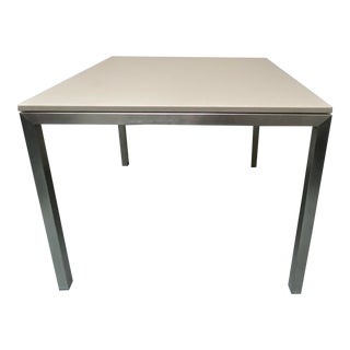 Modern Room & Board Square Dining Table For Sale