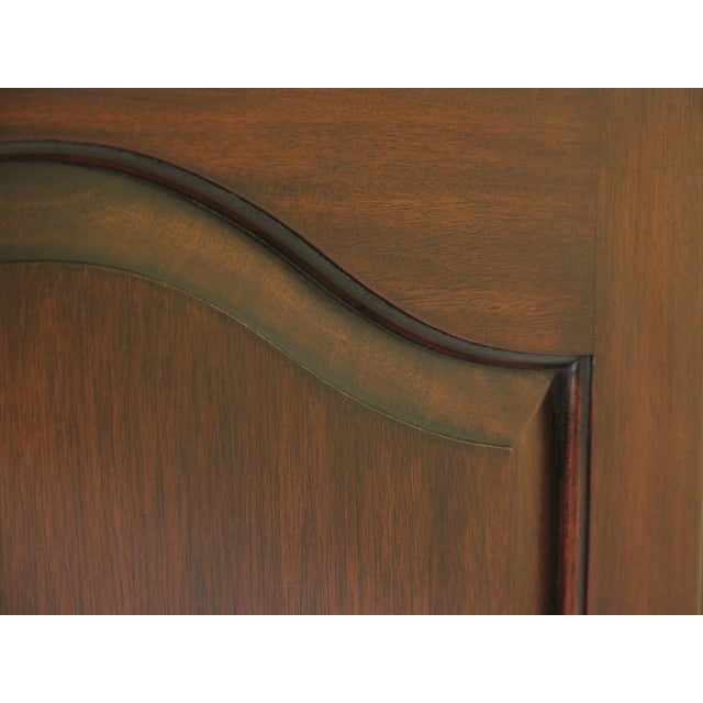 1990s 1990s Traditional Henkel Harris Mahogany TV Armoire For Sale - Image 5 of 12
