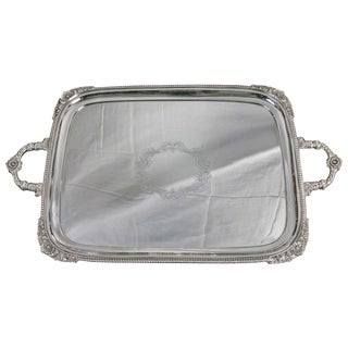 Silver Plate Server For Sale