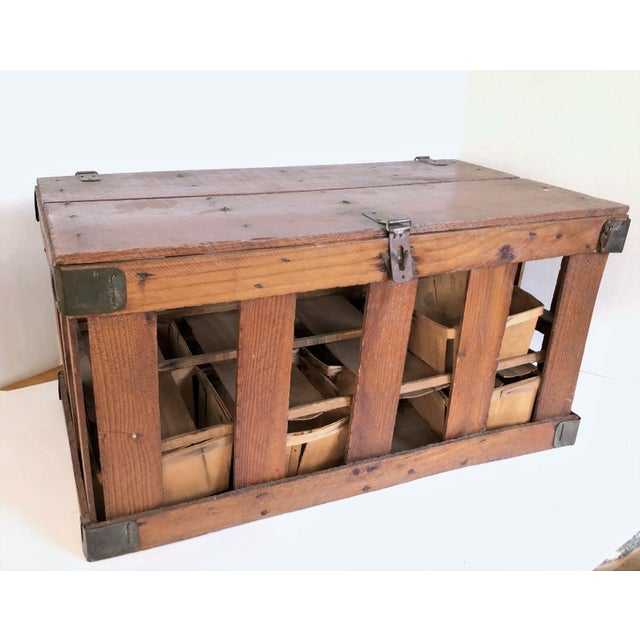 Antique French Berry Crate For Sale In Los Angeles - Image 6 of 6