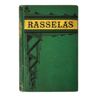 "Antique Book, ""Rasselas"" For Sale"
