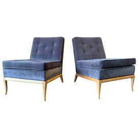 Image of Mid-Century Modern Slipper Chairs