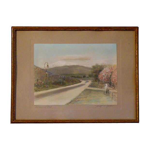 """1925 Southwestern """"El Camino Real"""" Photo by Frederick W. Martin For Sale"""