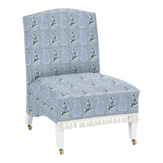 Virginia Kraft for Casa Cosima Sintra Chair, Jangle Supreem, Blues For Sale