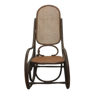 Thonet Rocking Chair For Sale