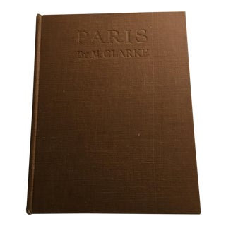 Paris by Moma Clarke 1929 London Pictorial Guide For Sale