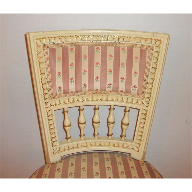 Jansen Style Side Chairs - Pair For Sale - Image 7 of 10