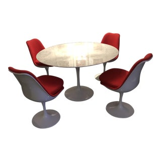 Gently Used Eero Saarinen Furniture Up To Off At Chairish - Best saarinen tulip table reproduction