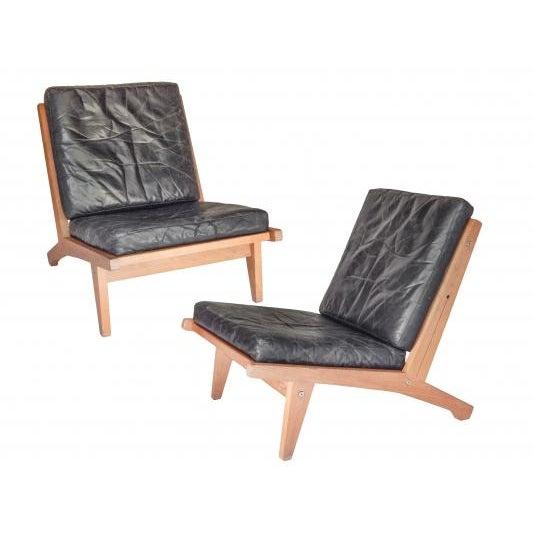 Pair of Hans Wegner Chairs - Image 2 of 9