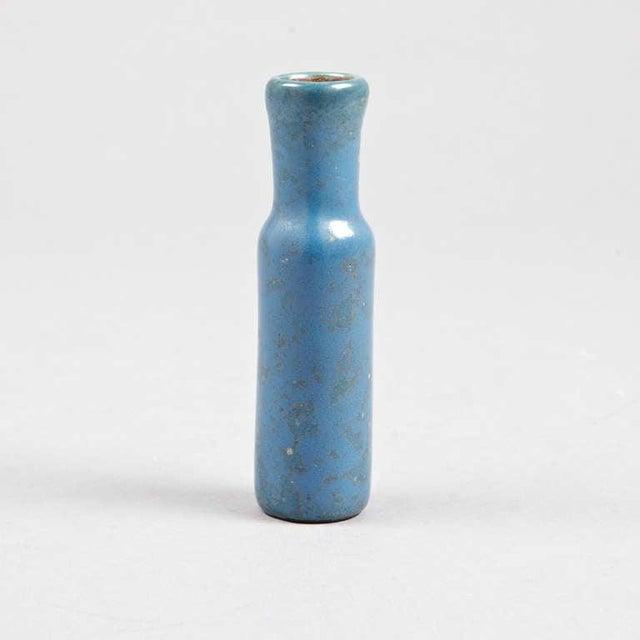 """A Vase by Hans Hedberg. Biot France, Circa 1970. Hans Hedberg, Sweden 1917-2007. Glazed ceramic, signed by artist. H- 5.5"""""""