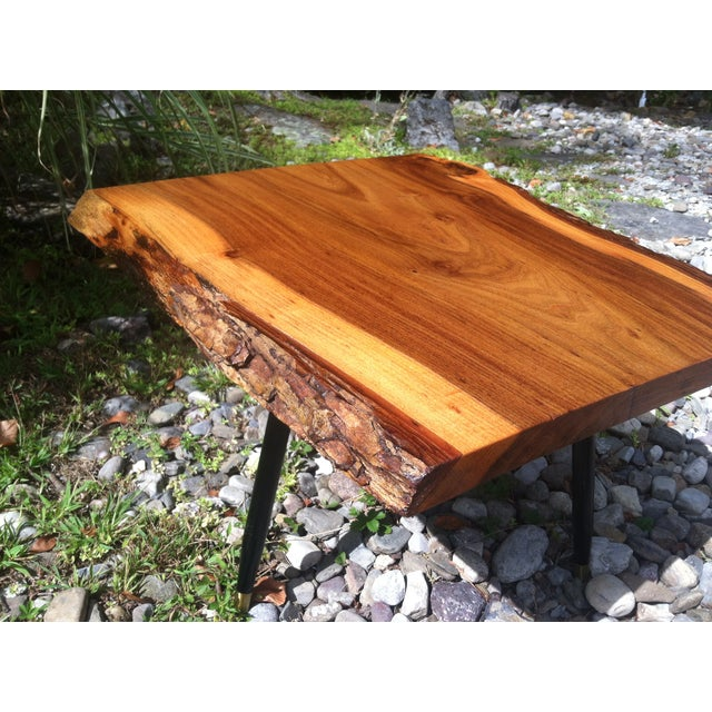 English Elm Live Edge Cocktail Table - Image 6 of 8