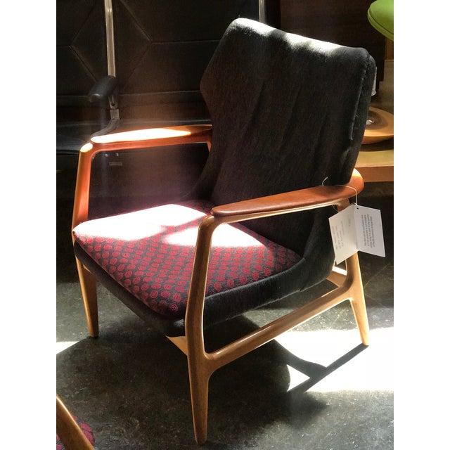 Danish Modern Bender Madsen Danish Modern Low Back Lounge Chair For Sale - Image 3 of 5