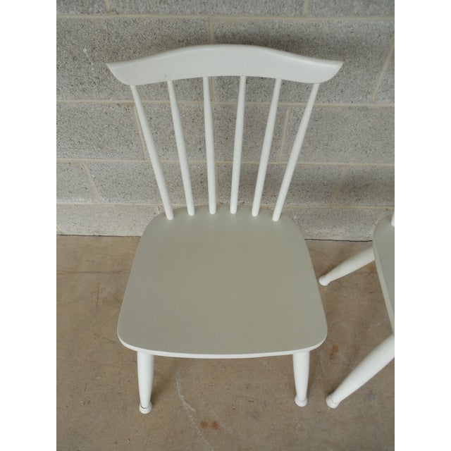 Paul McCobb Planner Group Factory Painted Side Chairs - Set of 5 - Image 7 of 7