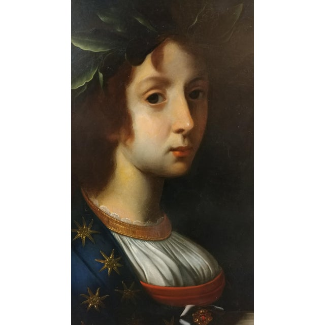 La Poesia - 18th Century Oil Painting For Sale - Image 4 of 8