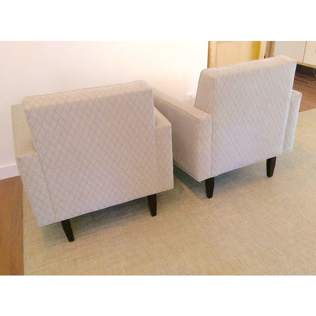Room and Board Mid-Century Modern Chairs - a Pair - Image 6 of 11