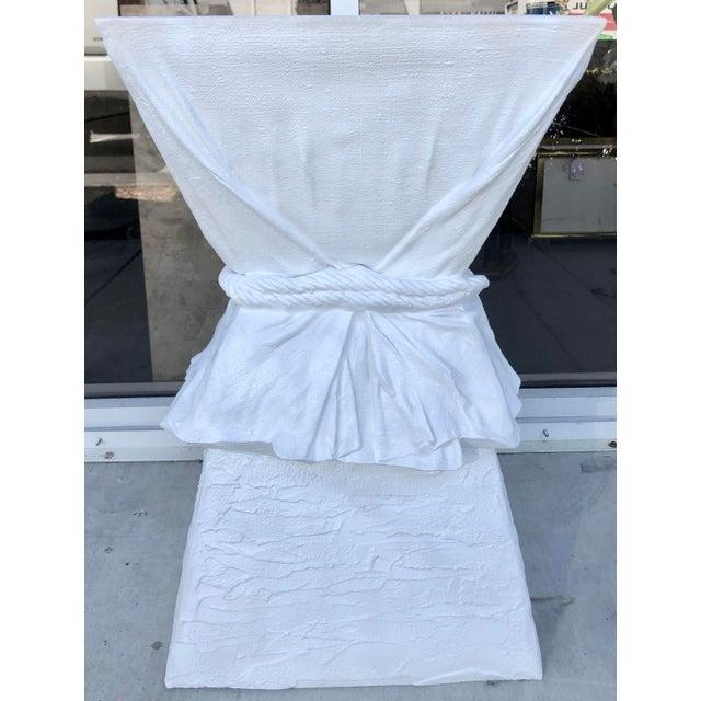 Resin Large John Dickinson Style Pedestal For Sale - Image 7 of 8