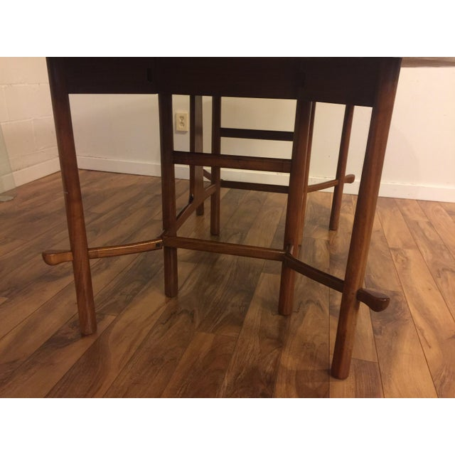 Heritage Henredon Drop Leaf Dining Table For Sale In Seattle - Image 6 of 10